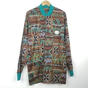 California Scrubs | Tribal Pattern Lngslve Jacket